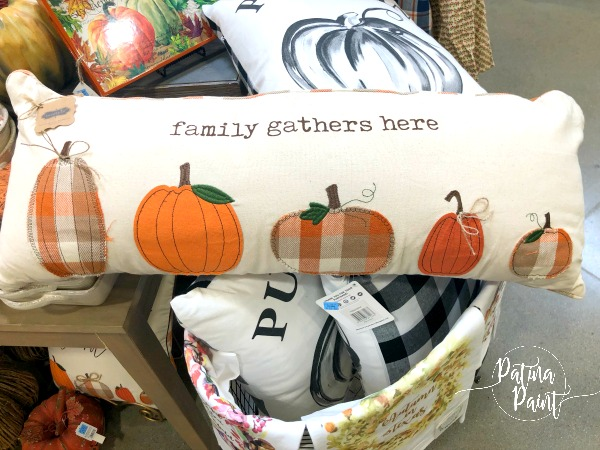 Pumpkin pillows
