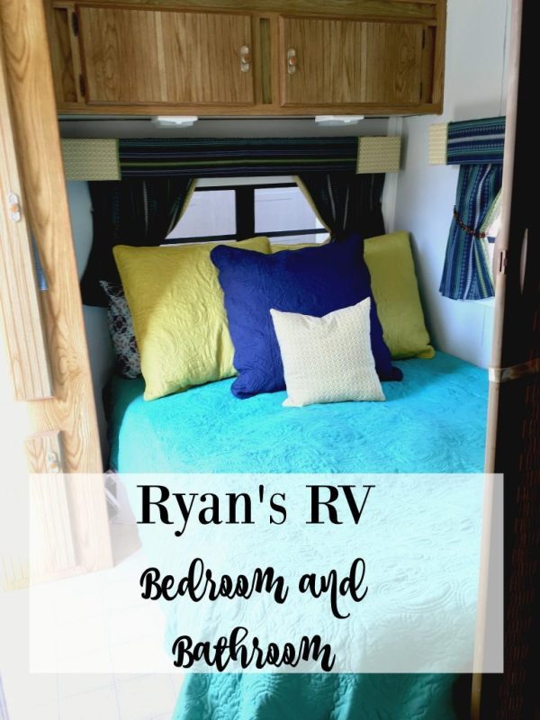 Ryan's RV Bedroom and Bathroom 12