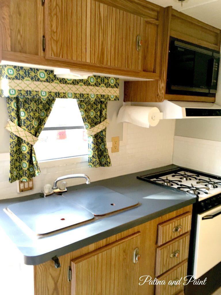 ryan's rv kitchen - patina and paint