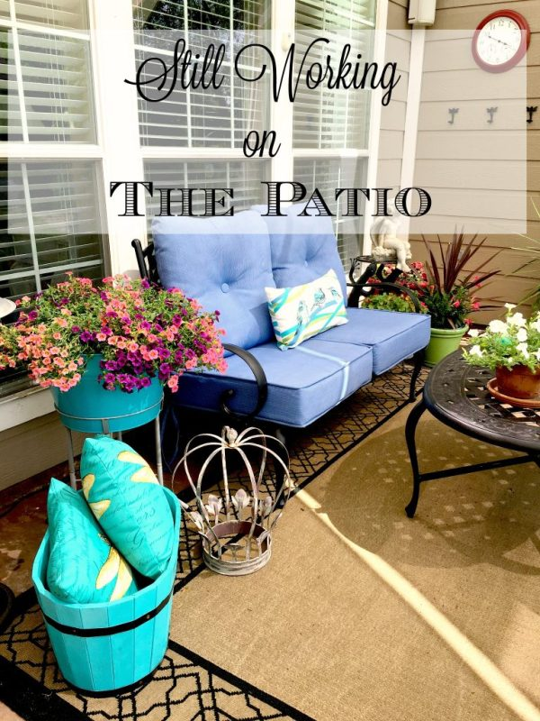Still Working on the Patio 16