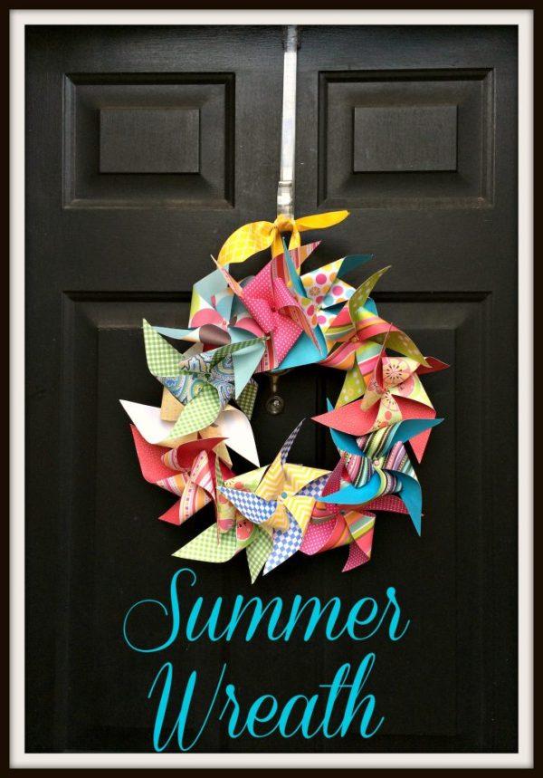 Summer Wreath 15