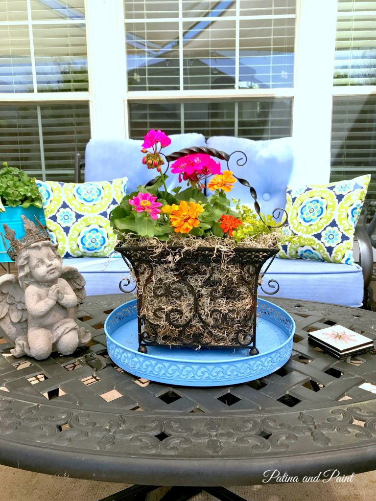 and pin com planter painted thecraftedlife clay planters
