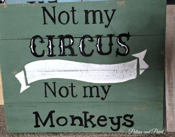 Wooden signs 1
