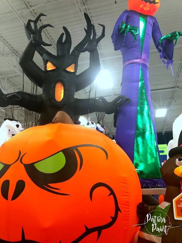 inflatable halloween decor