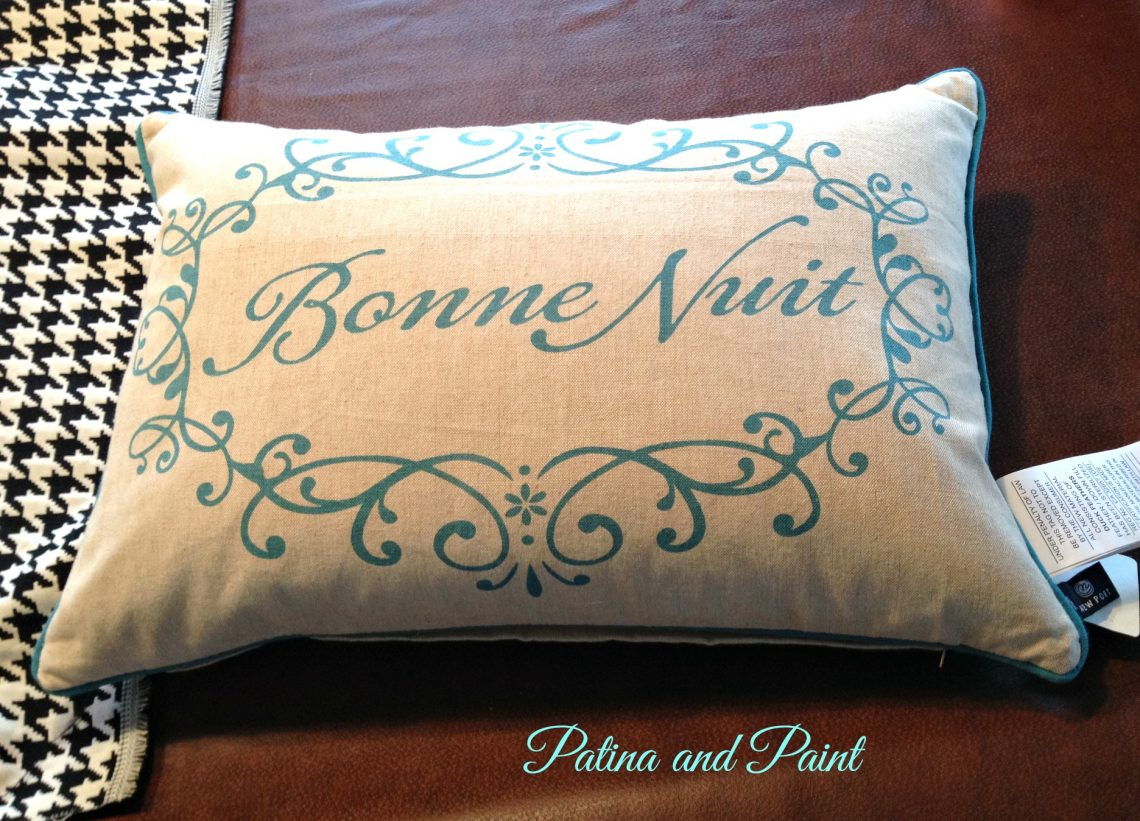 my pretty crown pillow patina and paint. Black Bedroom Furniture Sets. Home Design Ideas