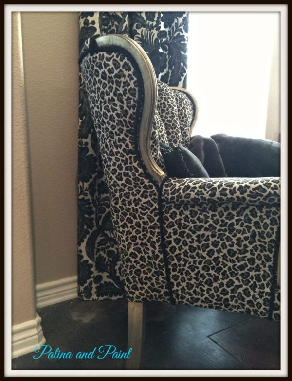 cheetah chair 1