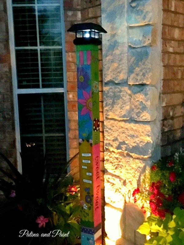 garden pole 5
