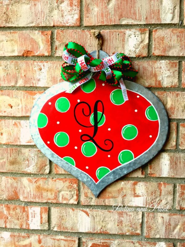 handpainted ornament 1