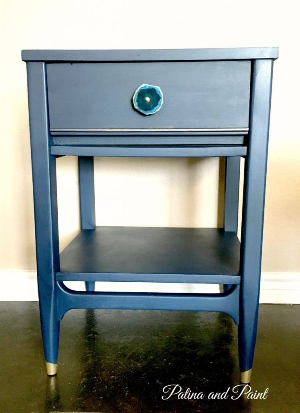 painted end table 2