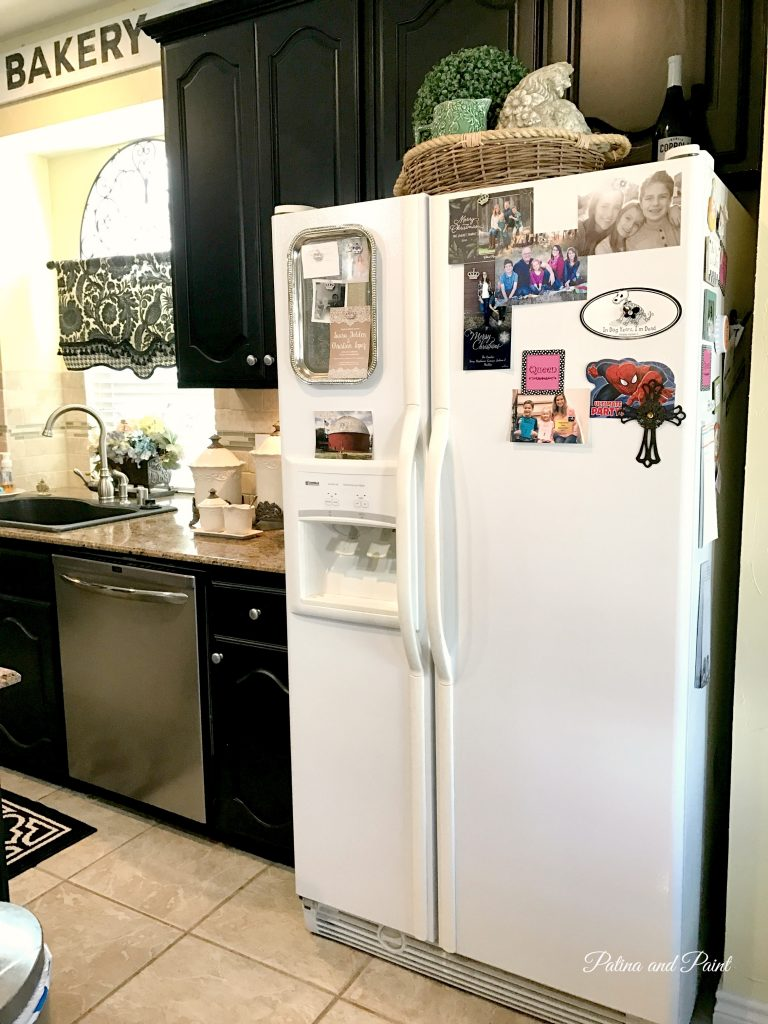 Saying goodbye to the Refrigerator and the Dishwasher - Patina and Paint
