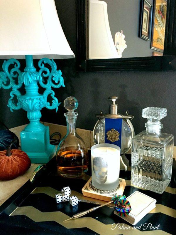 turquoise lamp 3