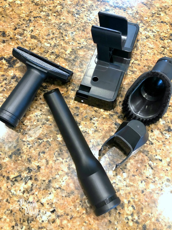 Cordless vacuum attachments