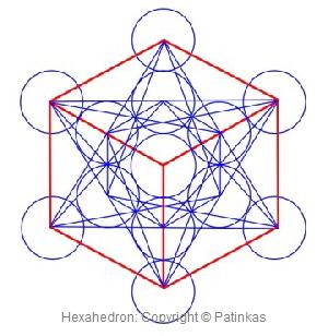 Metatron Hexahedron