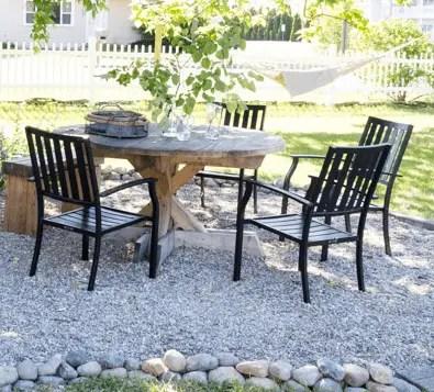 diy pea gravel patio pros and cons