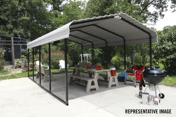 arrow steel carport and patio cover