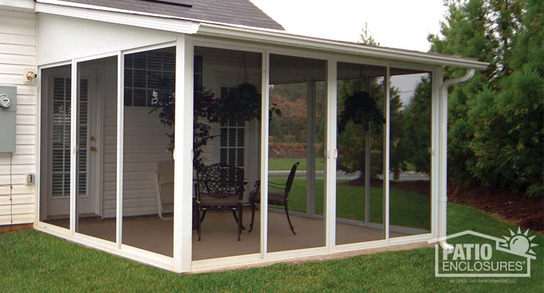 Image Result For Building A Screened Porch On A Concrete Slab