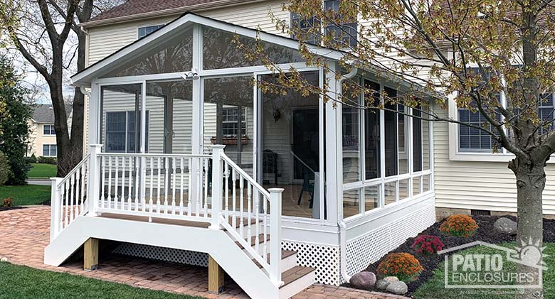 sunrooms with gable roofs photo gallery