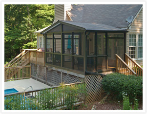 screened porch systems vs building a