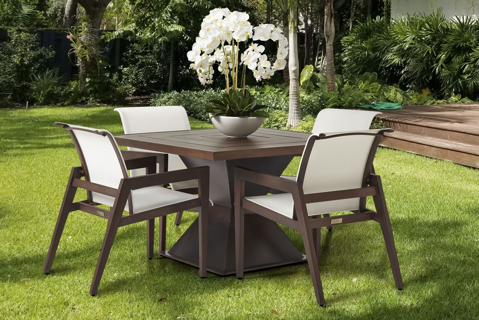 modern outdoor furniture for small