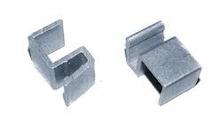 """Aluminum S-Clip 1/2"""" #30-801 (25 Pack)"""