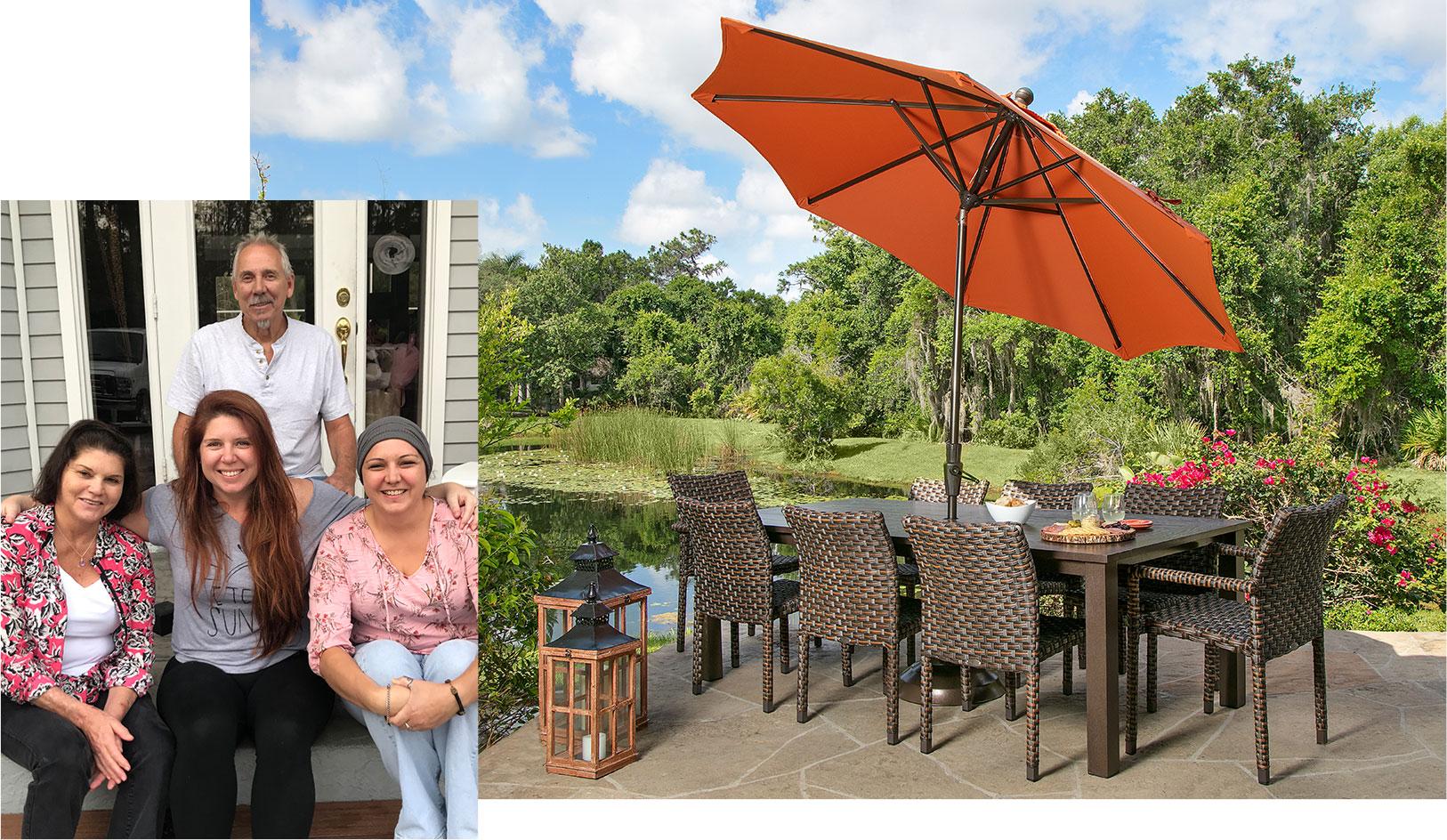 naples florida outdoor patio pool