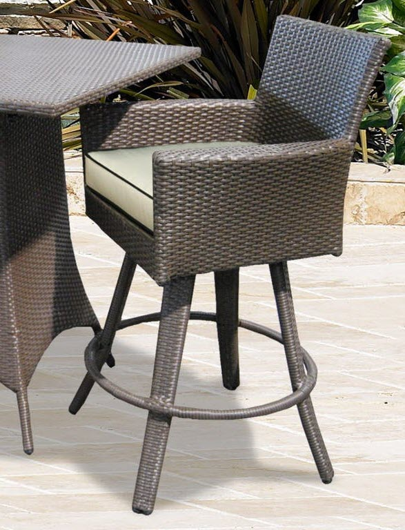 universal outdoor patio furniture universal 26 counter height swivel stool