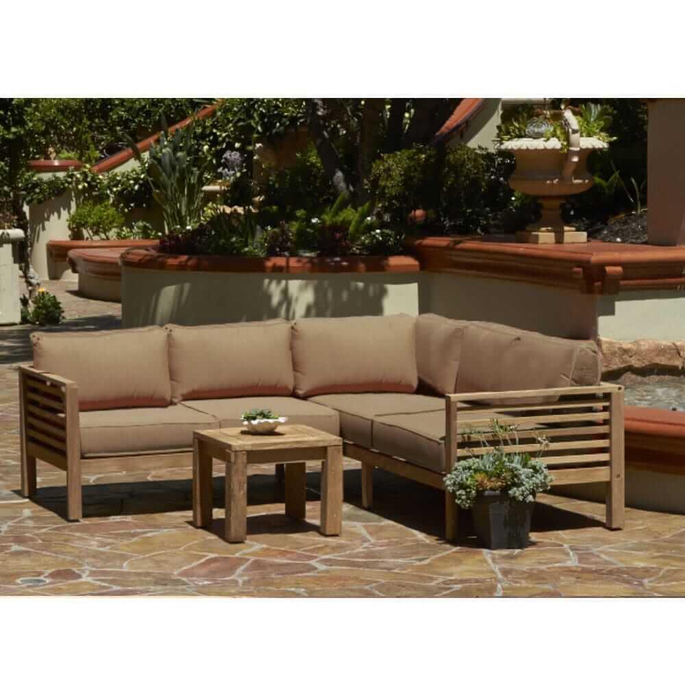 promenade outdoor patio sectional set