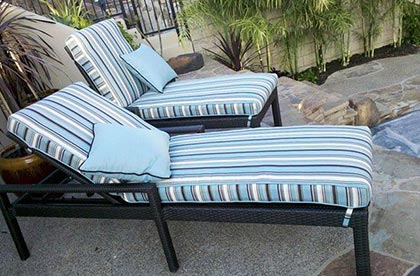 custom replacement outdoor cushions
