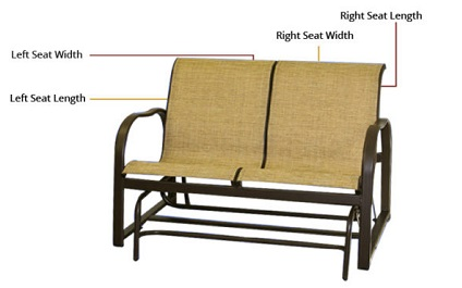 replacement loveseat sling