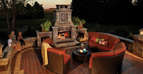 fire features patio town