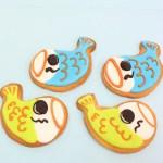 こいのぼりクッキー