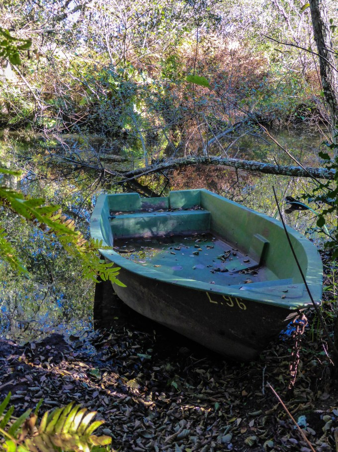 Barque echouée