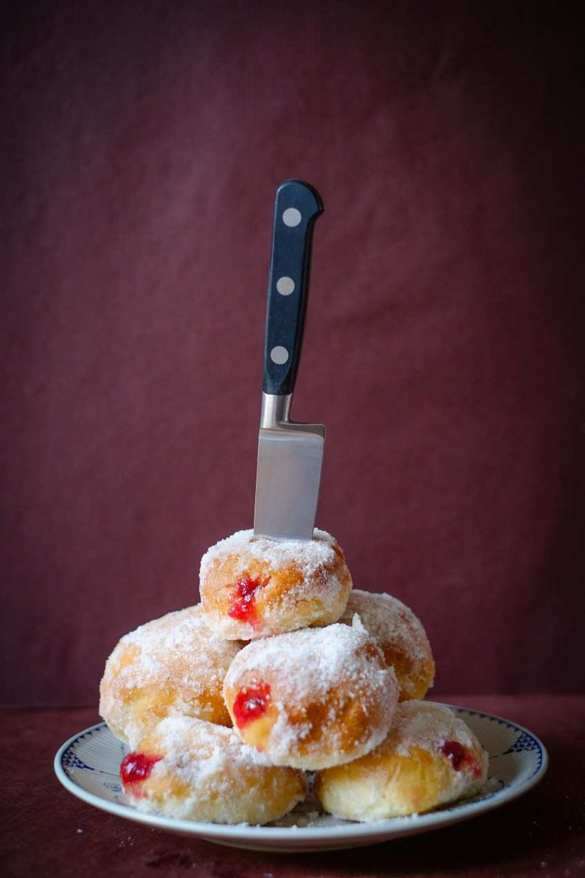 Strawberry & Redcurrant Jelly Doughnuts   Patisserie Makes Perfect