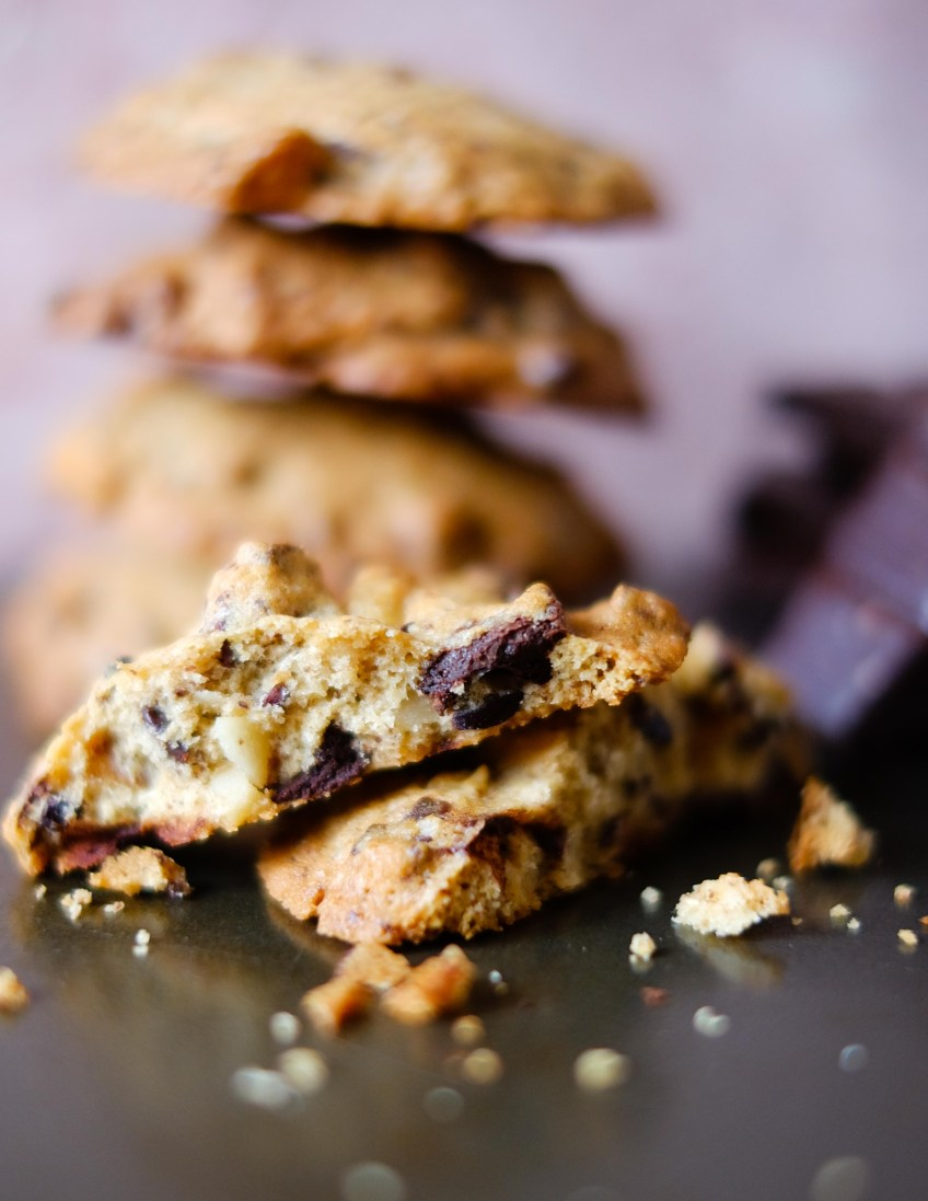 Spiced Chocolate Chunk Cookies   Patisserie Makes Perfect