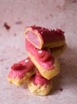 Raspberry Eclairs | Patisserie Makes Perfect