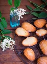 Elderflower Madeleines | Patisserie Makes Perfect