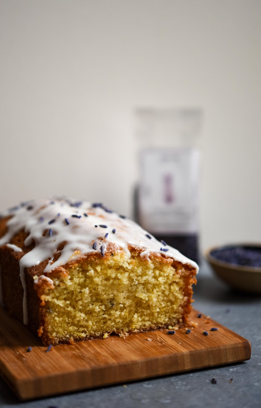 Lemon and Lavender Drizzle Cake | Patisserie Makes Perfect