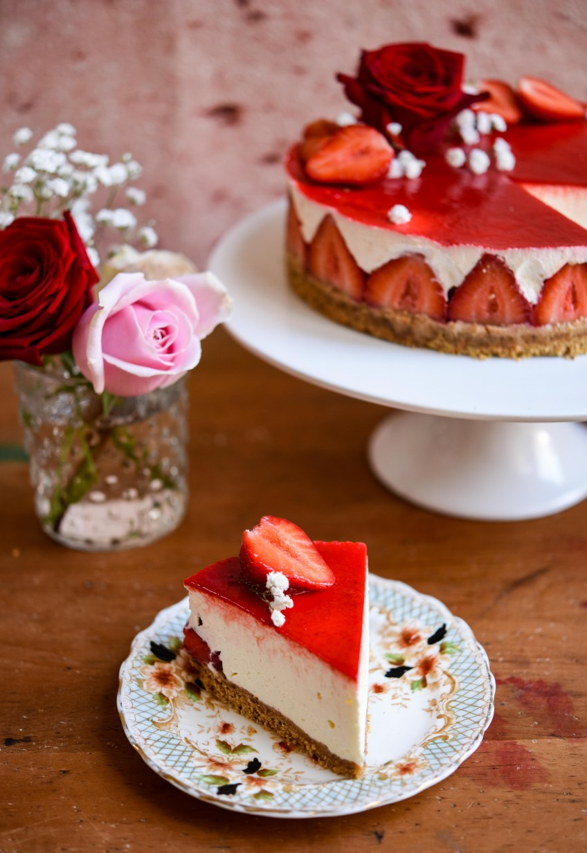 No-Bake Strawberry Cheesecake | Patisserie Makes Perfect