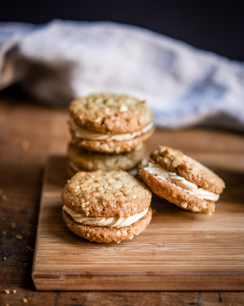 Peanut Butter Sandwich Biscuits   Patisserie Makes Perfect