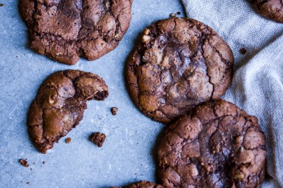 Chocolate Pecan Cookies | Patisserie Makes Perfect