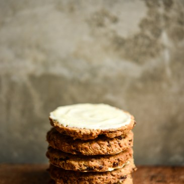 Cranberry, Oat & White Chocolate Cookies