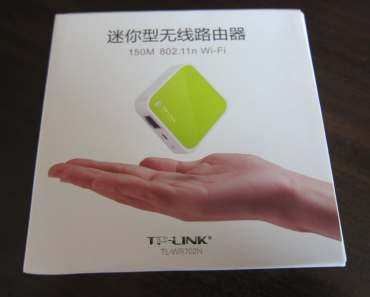 TP-LINK TL-WR702N Mini WiFi Wireless Router