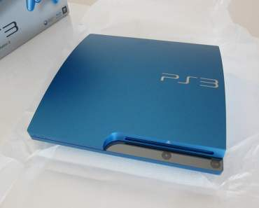 320GB Playstation 3 in Blue