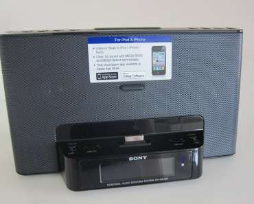 Sony ICF-DS15iP iPhone Radio Audio Dock