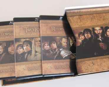 The Lord of the Rings- The Motion Picture Trilogy BluRay Set