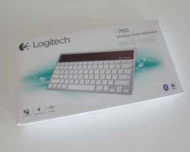 Logitech Wireless Solar Keyboard K760 for Mac:iPad:iPhone