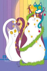 Joulukortin suunnittelu ja toteutus. Photoshop. (Tällä hetkellä oppuunmyyty)