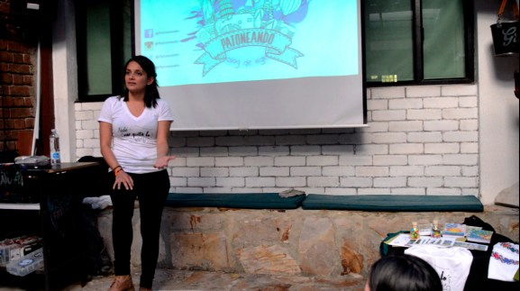 charla viajera - Lina Maestre Patoneando blog de viajes 2016