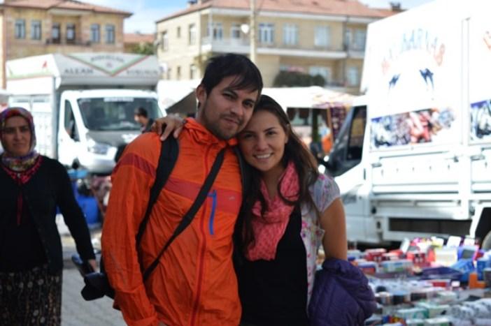 Dur y Luis en Turquía, país donde tuve la dicha de conocerlos