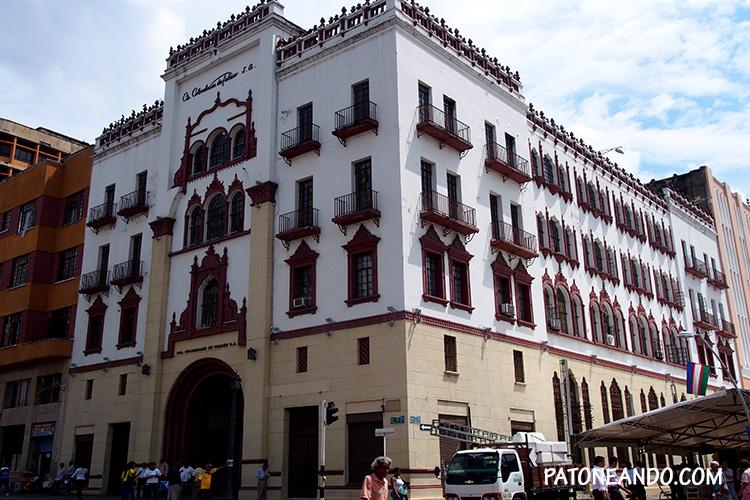 Este es el edificio viejo al que hacía referencia